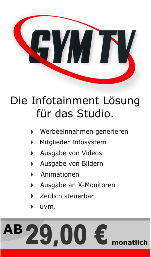 solutions4gym programm gymtv